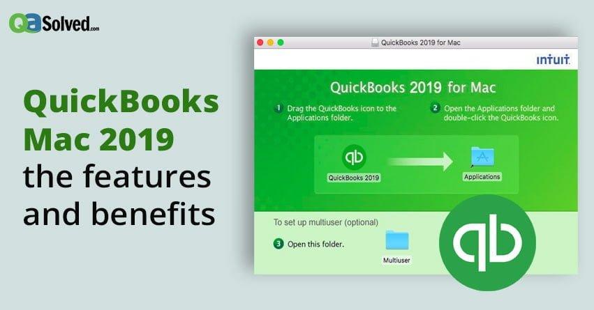 QuickBooks Mac 2019