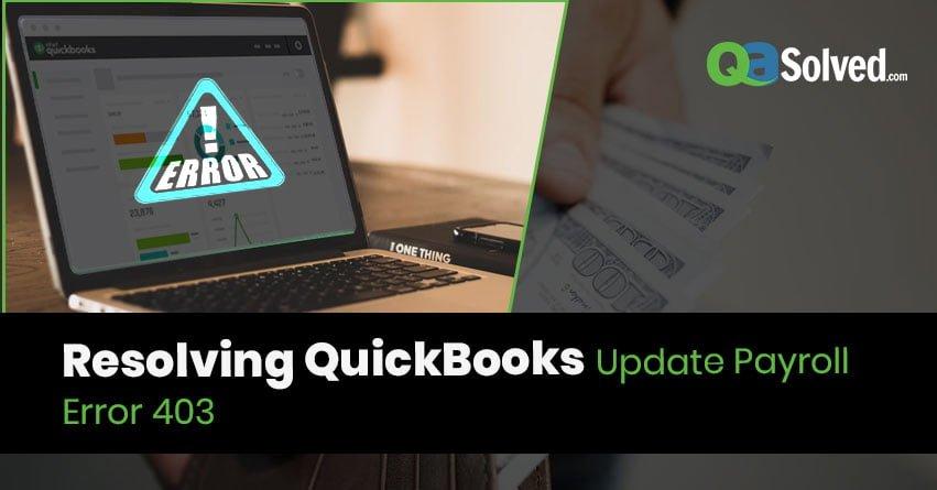 QuickBooks Update Payroll Error 403